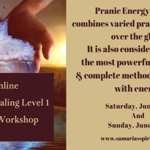 Pranic Healing Level One Certification